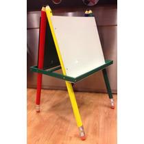 Pizarron Pencil Para Marcador Y Tiza Infantil Niños.original