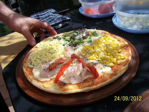 Pizza Party Bebida Libre Postre Mesa Dulce Living Pizzarte