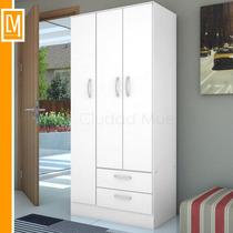 Placard Ropero Con 3 Puertas + 2 Cajones Oferta!!!