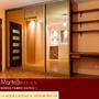 Frente De Placard Espejado 3,00x2.60m 2ptas Martelli Design