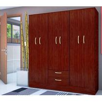 Placard Ropero De 6 Puertas + 2 Cajones Oferta Zona Sur