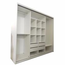 Placard Melamina Blanco 200x183x60 Martelli Design