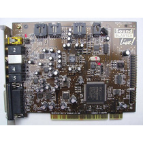 Placa De Sonido Sound Blaster Live Mp3+ Box - 1895