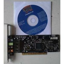 Sound Blaster Live 24 Bit 7.1 Placa De Sonido Sound Blaster