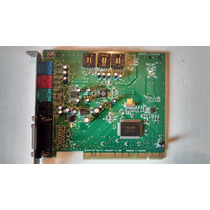 Placa Sonido Creative Sound Blaster 128 Ct4750 Pci