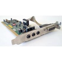 Placa De Sonido Audio Plus 6400 3d-sound Isa Card Av309
