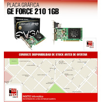Placa De Video Evga Nvidia Ge Force G210 - La Plata