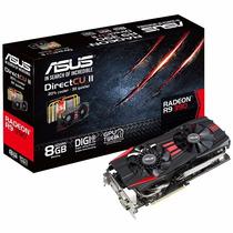 Placa Video Asus Strix Gaming Radeon R9 390 8gb Oc Dc 3