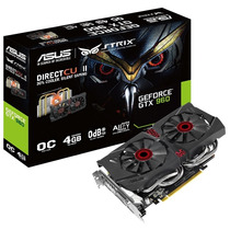 Placa Video Gtx 960 4gb Asus Strix Directcu 2 Oc Hdmi Dvi