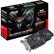 Placa Video Asus Strix Gaming Radeon R7 370 2gb Dc 2 Oc Hdmi