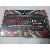 Tarjeta Grafica Radeon Hd 5670 1gb Ddr5