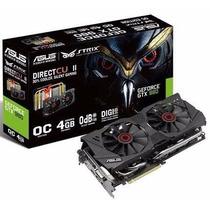 Placa De Video Asus Strix Geforce Gtx 980 4gb Gddr5