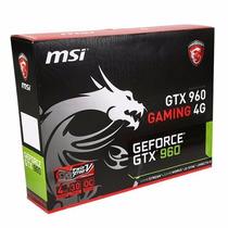 Msi Gtx 960 4gb Oc Gaming - Placa Video Nvidia Hdmi Datanex