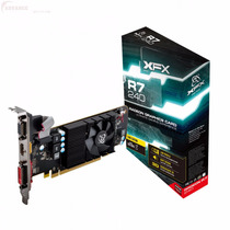 Placa Video Xfx Ati Radeon R7 240 1gb Ddr3 +vga +dvi +hdmi