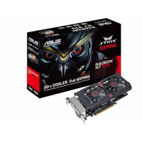Placa De Video Asus Strix Radeon R7 370 2gb Ddr5 Dx12 4k