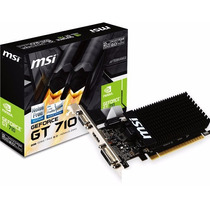 Placa De Video Geforce Gt710 2gb Ddr3 | Hdmi Dvi Vga | Gamer