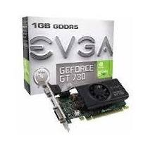 Placa Video Geforce Nvidia Gt730 1gb Ddr5 Hdmi Dvi Garantia