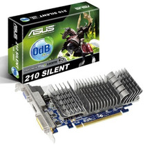 Placa De Video Asus Geforce Gt 210 Silent 1gb Gddr3 Bsaspc