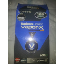 Sapphire Radeon Vapor X - 6770 1gb Ddr5 Impecable!