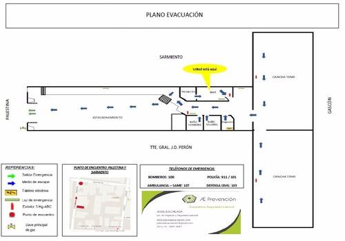 Plano De Evacuacion / Plan Obligatorio