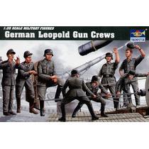 German Leopold Gun Crews Trumpeter 0406 Escala 1/35