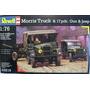 Morris Truck & 17pdr Gun & Jeep Cj-2a Revell 1/76 Consulte