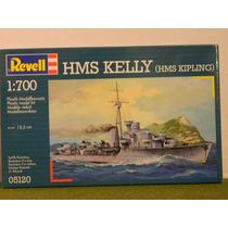 Destructor Hms Kelly (kipling) Revell 1/700 Cons. Stock