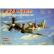 Hobbyboss 1/72 Dewoitine D.520 Fighter Easy Kit