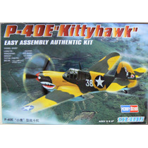 Hobbyboss 1/72 P-40e ¨kittyhawk¨¨ Easy Kit
