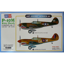 Hobbyboss 1/48 P-40m Kitty Hawk Easy Build