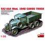 Camión De Carga Gaz-aaa Mod. 1940 Miniart 1/35. Cons Stock
