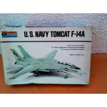 Maqueta Monogram U.s. Navy Tomcat F-14 A 1/72 Año 1973