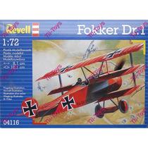 Avion Revell Fokker Dr. 1 Triplane P/armar 1:72 Kit 04116