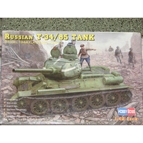 Tanque Ruso T-34/85 Hobby Boss Escala 1/48