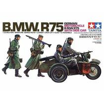Maqueta Para Armar Bmw R75 W/ Sidecar Tamiya 35016