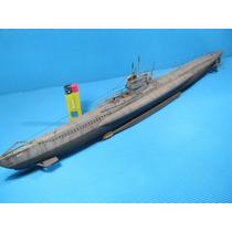Submarino U Boat Type 21 Maqueta Armada Escala 1/144