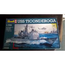 Destructor Uss Ticonderoga 1:700 Revell Maqueta Para Armar.