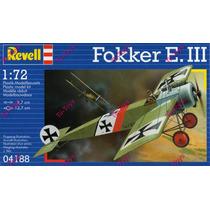 Avion Revell Fokker E.iii P/armar 1:72 Kit 04188
