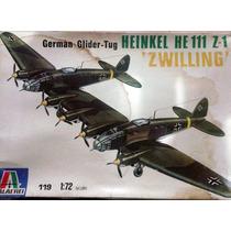 Avion Italaerei Para Armar Heinkel He 111 Z-1 Zwilling