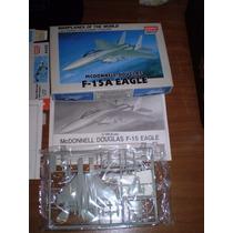 2 Maquetas Mitsubhisi G4m Y F-15 Eagle Academy