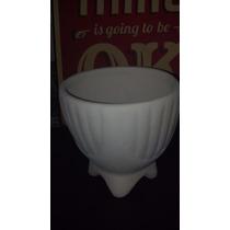 Maceta Antigua Ceramica 10x10 Cm Sin Planta. Oferta