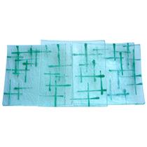 Platos De Vidrio 12x12,18x18, 21x21, 27x27 Cm Vitrofusión