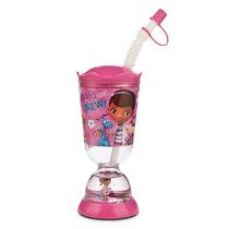 Vaso Plástico Con Sorbete Disney Store: Doctora Juguetes