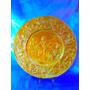 El Arcon Antiguo Gran Plato De Cobre Repujado 35cm 3510