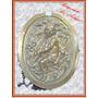 Adorno Plato Medallon Colgante De Bronce (1204)