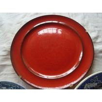 Plato Bandeja Rojo