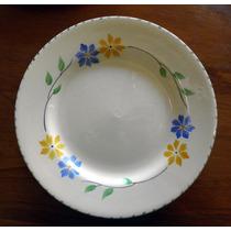 Plato Decorativo Porcelana Inglesa Davison, 20 Ctms