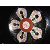 Antiguo Plato Te Japonés Porcelana