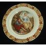 Antiguo Plato Porcelana Pared Decoracion Wood`s Ware (1515)