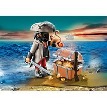 Playmobil Special Plus 4767 Capitán Pirata Con Tesoro